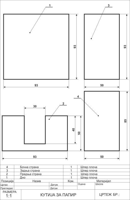 Кутија за папир